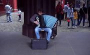 Музыка для органа на баяне!