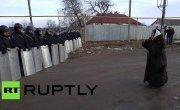 ОМОН оцепил администрацию села под Тулой из-за бунта цыган