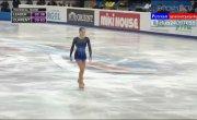 Юлия Липницкая. Чемпионат Европы. 1 место.