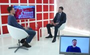Интервью на 8 канале. Валерий Власов, Антон Пуговкин