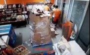 Безумное ограбление в Колумбии.