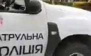 Украинская полиция преследует мопед