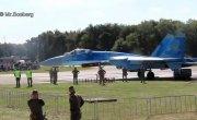 Украинский истребитель сдул людей на авиашоу в Бельгии