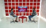 "Программа ""Интервью"" на Восьмом канале. Артур Лукава, Ксения Бессонова"