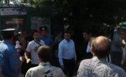 попытка милиции сорвать флешмоб, Одесса 14.09.2014