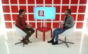 Интервью на 8 канале. Артур Лукава, Андрей Сокульский