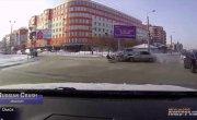"""Подборка ДТП и аварий от канала """"Russian Crash"""" за 11.02.2021 №1822"""