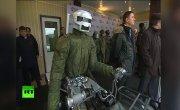 Боевой робот  аватар  в действии