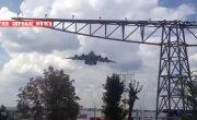 Военно транспортный самолет НАТО C130J Hercules    , приземлился в Харькове.8.08.2014