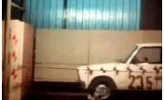 Советский краш тест Лада ВАЗ 2105 (1982)