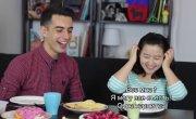 """""""Made in China"""": Китаянка пробует русскую еду - 2: борщ, вареники, винегрет и другое"""
