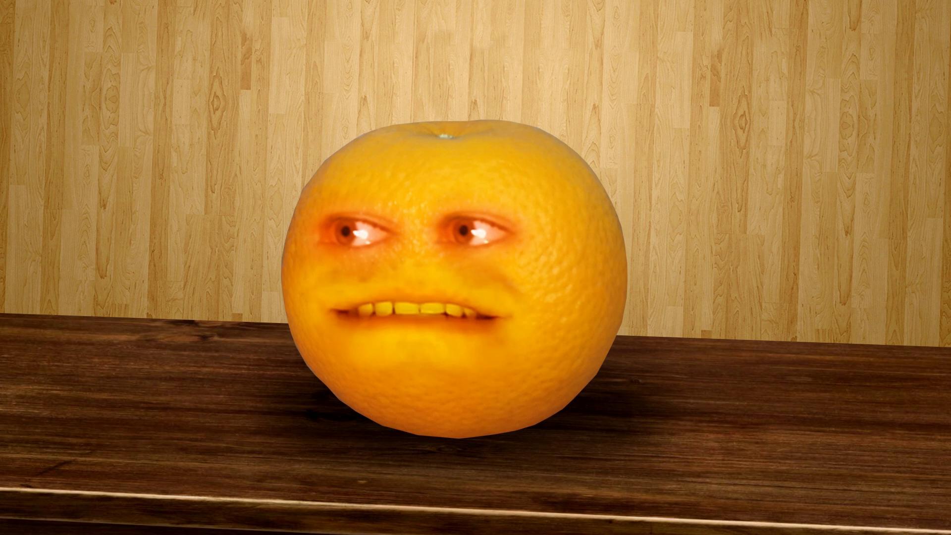 Прикольные картинки с апельсином