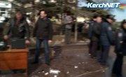 В Крыму избили «бандеровцев» 22.02.2014