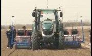 Синьцзянь. Первый отечественный беспилотный трактор.