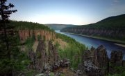 Каньон ручья Уксиктэ, Подкаменная Тунгуска