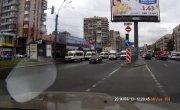 Авария в Питере (Высунул нос что бы посмотреть )