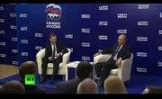 Путин и придурок !!!