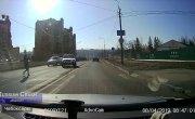 Подборка ДТП на видеорегистратор за 09.04.2019. Russian Crash. №1260