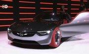 Футуристические концепт-кары Opel и Mercedes