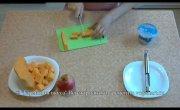Запеченная тыква с сыром l Вегетарианские рецепты