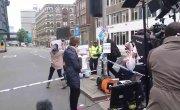 Фейковые протесты организованные CNN по поводу теракта в Лондоне / Fake protest staged by CNN film crew at London Bridge terrorist attack scene