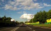 Авария в Москве (Не проскочил на красный )