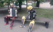 Тони Старк и Бамблби в России #1