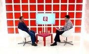 Интервью на 8 канале. Валерий Власов, Александр Тарасов