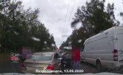 Новая подборка ДТП и аварий от канала «Дорожные войны!» за 15.09.2020. Видео №1840