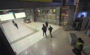 Пьяный лихач в аэропорту (полное видео)