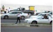 Жестокое задержание водителя