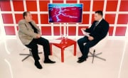 Интервью на 8 канале. Владислав Пирогов, Вадим Пирогов.