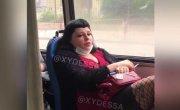 Быдло в трамвае Одессы !