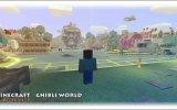 Minecraft_1.7   Город Ghibli