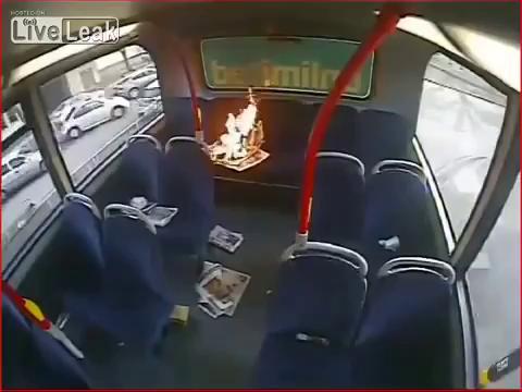 Парит прямо в автобусе