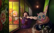 "Клинок, Рассекающий Демонов / Kimetsu no Yaiba - 2 сезон, ""Трейлер"""