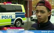 В Швеции мужик с мечом порубил школьников
