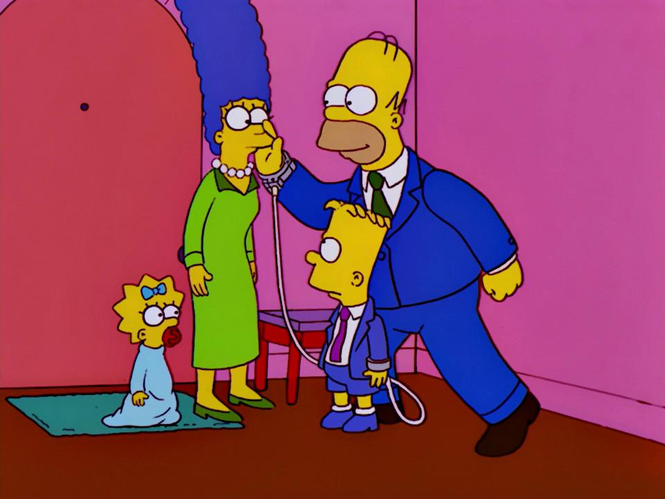 Сериал Симпсоны 13 сезон The Simpsons смотреть онлайн