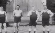 Иван Поддубный в кинохронике 1912 года