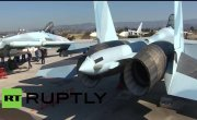 Истребители Су-35С в Сирии