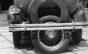 Устройство для легкой парковки автомобиля из 1933 года.