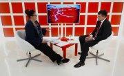 Интервью на 8 канале. Валерий Власов, Оксана Шеллер