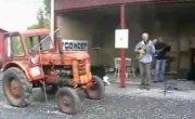 Sweet Georgia Brown & traktor