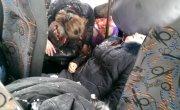 ВИДЕО 18  Сепаратисты обстреляли автобус с мирными жителями под Волновахой