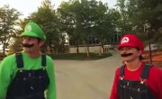 SUPER MARIO BROTHERS PARKOUR [EN LA VIDA REAL]