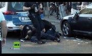 Немецкая полиция за работой
