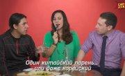 Иностранцы пробуют Русский САМОГОН — по застольному (субтитры)