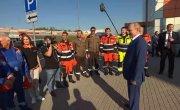 Общение с участниками строительства Центральной кольцевой автомобильной дороги Московской области