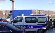 Нападение на полицейскую машину