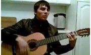 чеченец - просыпаюсь и вижу тот сон  на гитаре
